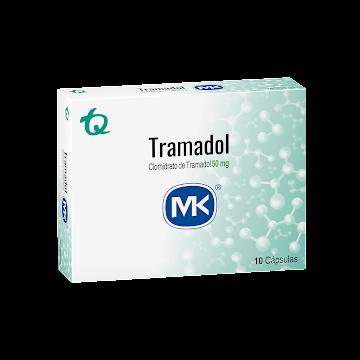 Tramadol MK 50mg Capsula   caja x10Cap.