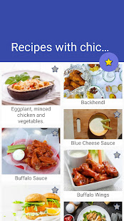 Download Recipes with chicken! Free! For PC Windows and Mac apk screenshot 1