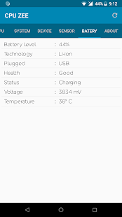 App CPU-Z : Device info APK for Windows Phone