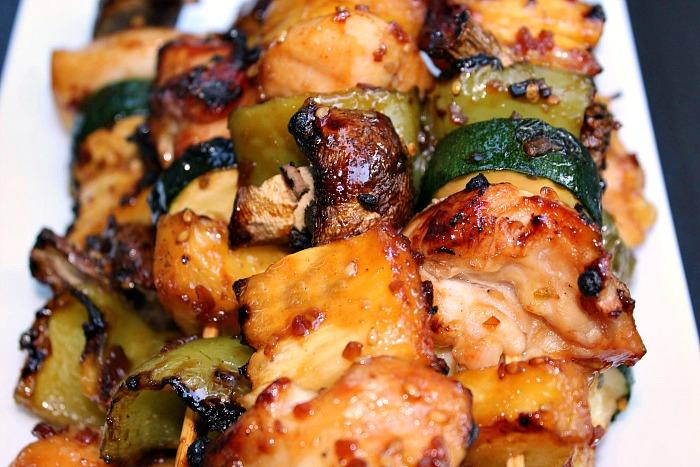 Teriyaki Chicken Kabobs Recipe