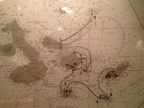 Photo: Ship's Route