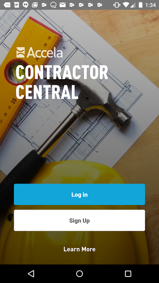 Contractor Central- screenshot