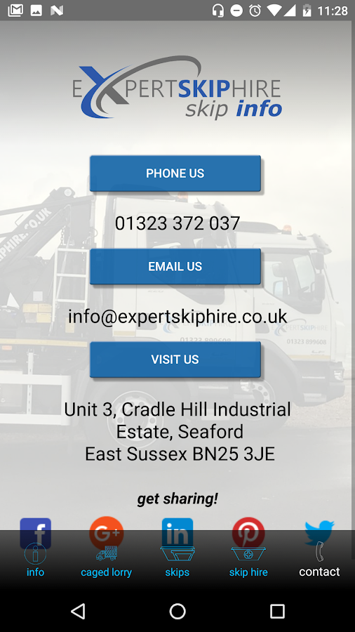 Expert Skip Hire- screenshot