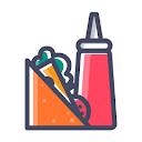 Flameingoes, Arundelpet, Guntur logo