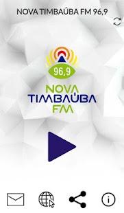 Nova Timbaúba FM - náhled