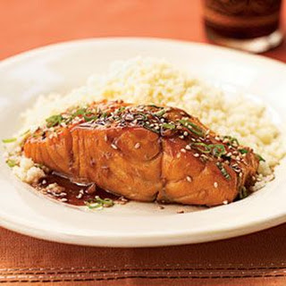 Bourbon Brown Sugar Salmon Marinade.