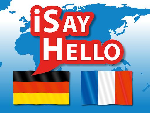 iSayHello German - French free 3.1.1 screenshots 4