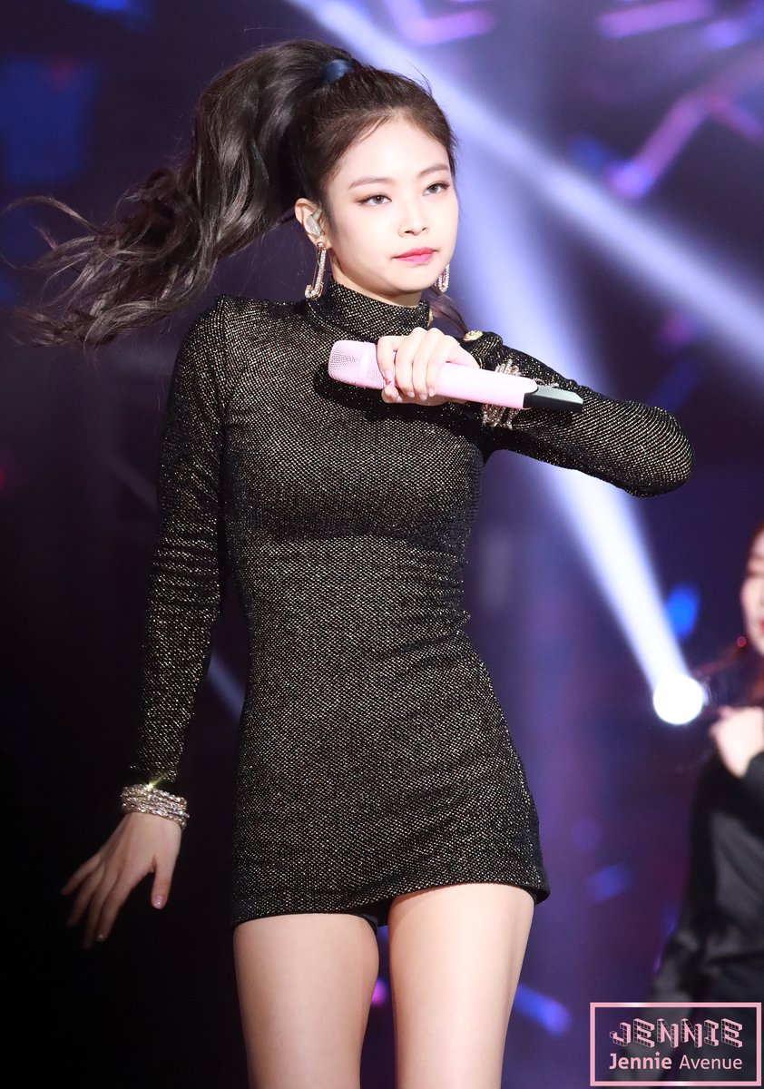 black dress jennie