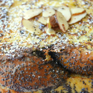 Almond Poppy Seed French Toast