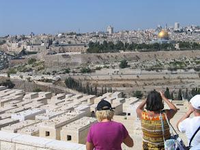 Photo: Jérusalem : cimetière juif