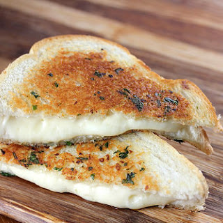 Garlic Bread Grilled Cheese Recipe