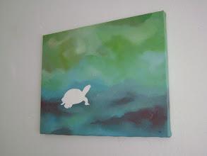"Photo: Turtle: 14"" x 11"" (SOLD)"