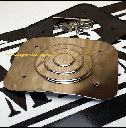 PDP Täckplåt för bastrumfäste - PDAXBDMPLAE-CR