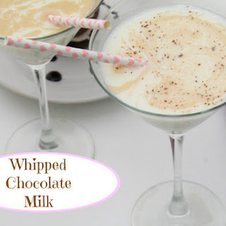 Whipped Chocolate Milk.