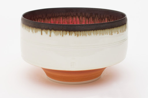 Peter Wills Deep Porcelain Bowl 087