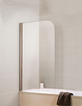 Pare-baignoire Capri, 80 cm, 1 volet