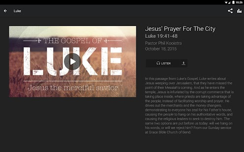 Grace Bible Church of Bend- screenshot thumbnail