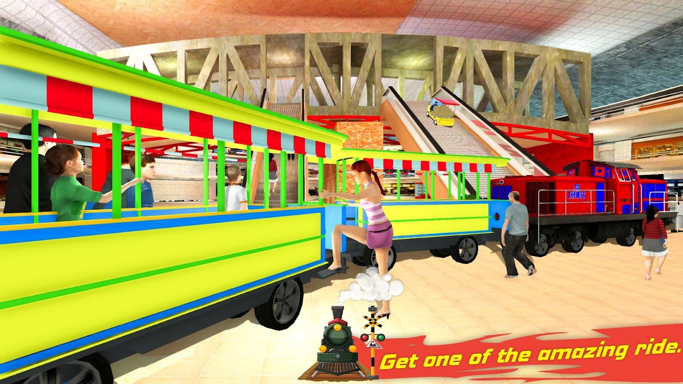 Christmas Shopping Simulator.Christmas Shopping Mall Rush Train Simulator Android 앱