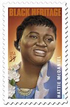 Photo: Sello postal de Estados Unidos dedicado a Hattie McDaniel