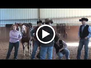 """Video: Chris Cox and """"Pepto,"""" Horseman, 3-Time World Champion of The Road to the Horse, Recipient of Monty Roberts' """"Equitarian of the Year"""