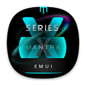 X2S Mantra Cyan EMUI 5 Theme (Black) Android APK Download Free By Absoft Studio