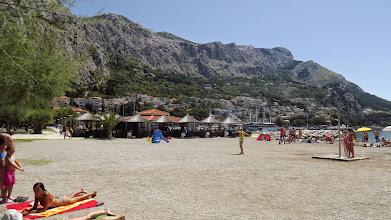 Photo: Omis strand