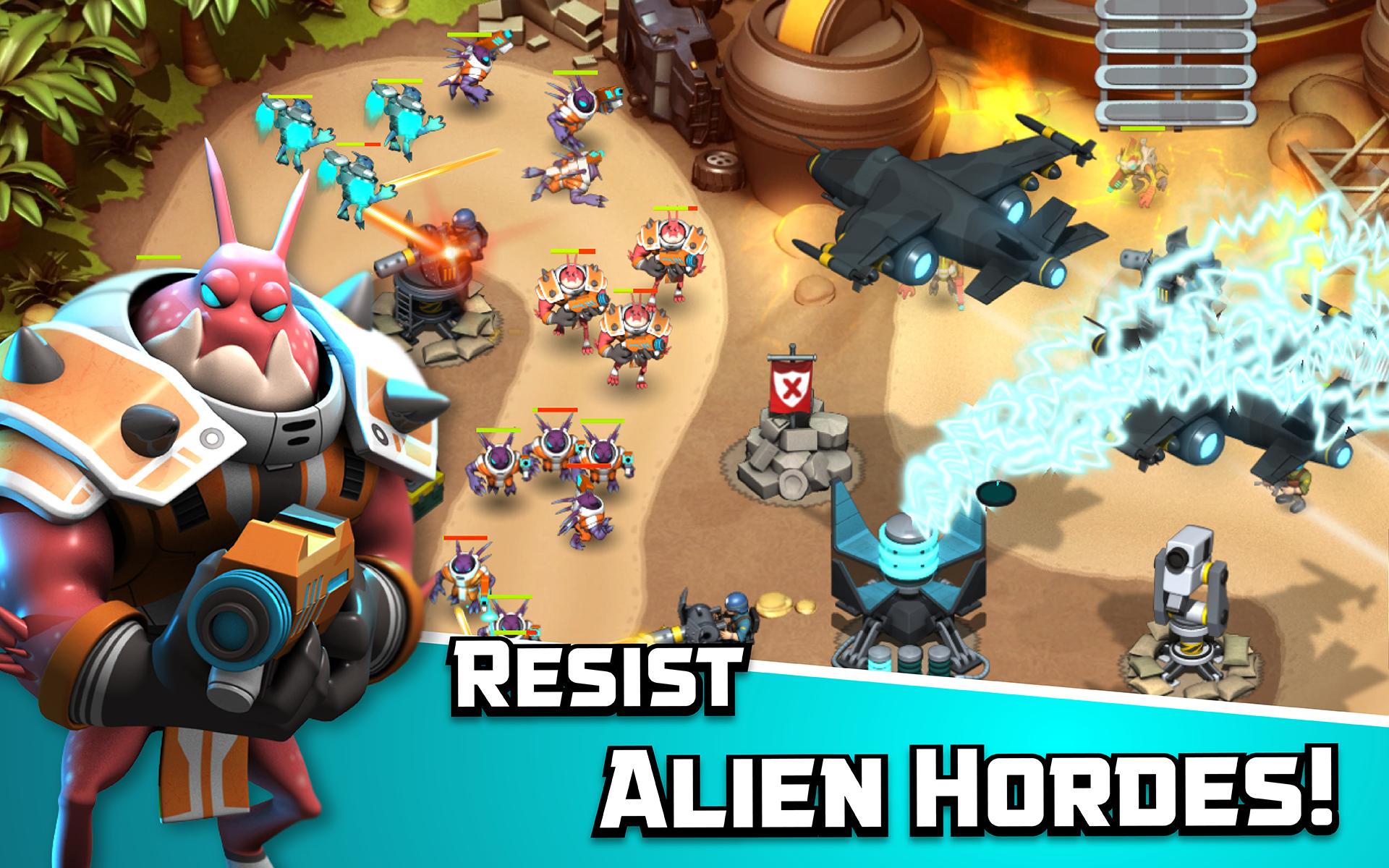 Alien Creeps TD screenshot #16