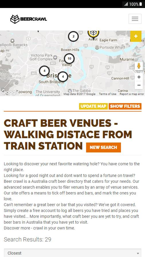 Beer Crawl - Australia- screenshot