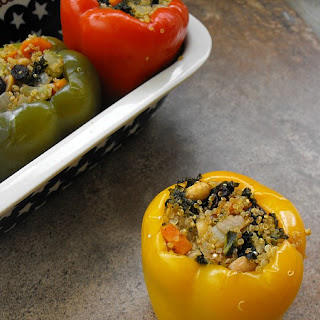 Moroccan Style Stuffed Peppers