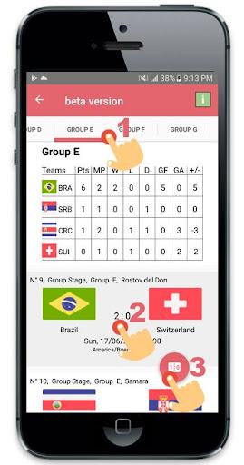 2018 World Cup Draw Simulator 2.3.0 screenshots 2