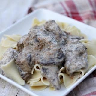 Beef Stroganoff Crockpot Recipe