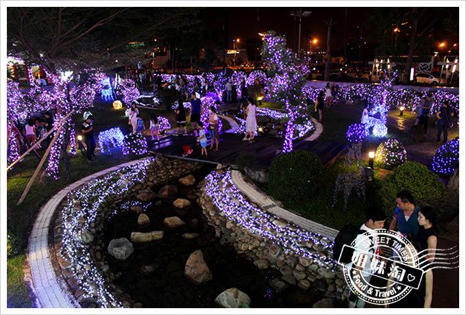 2016夢時代愛Sharing聖誕節LED造景公園