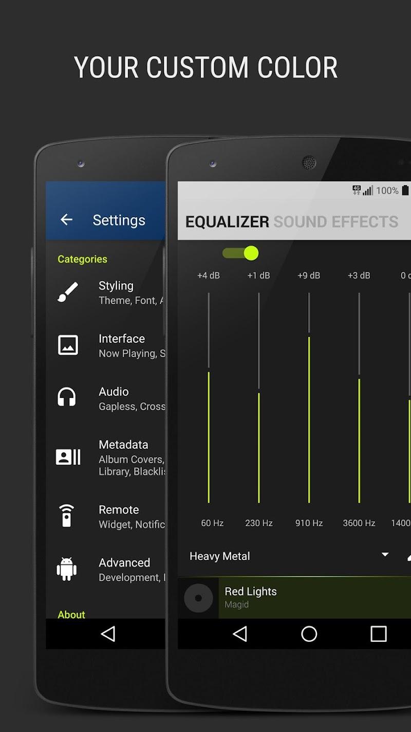 BlackPlayer EX Screenshot 1