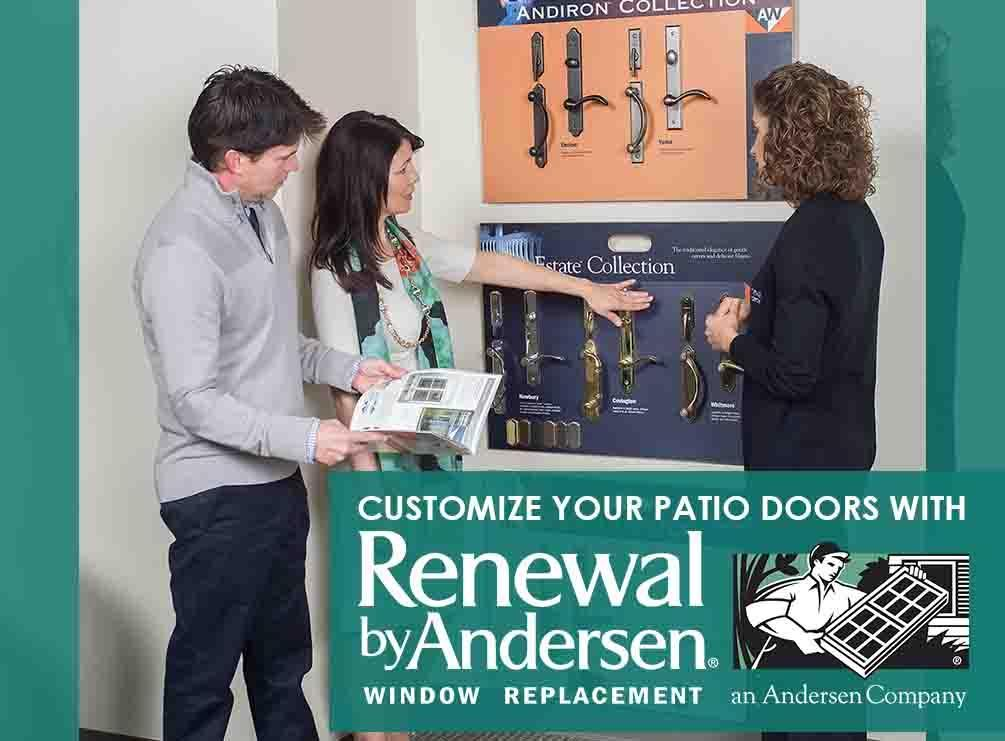 Customize Your Patio Doors With Renewal By Andersen