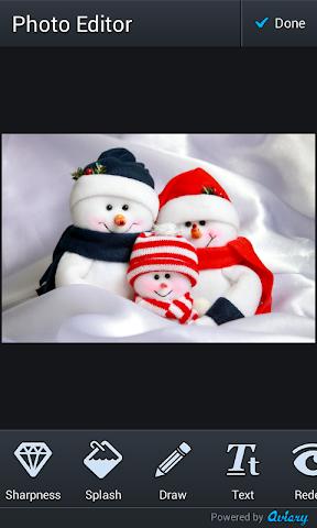 android bonhomme de neige de montage Screenshot 2