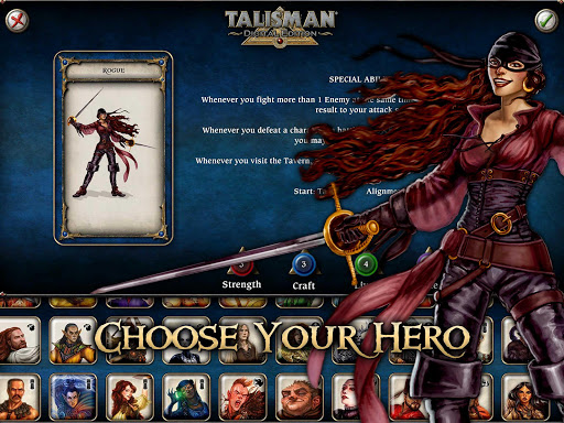 Talisman game for Android screenshot