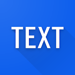 Simple text widget - Text widget for android Icon