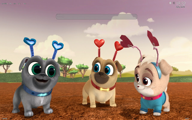 Puppy Dog Pals Wallpapers New Tab