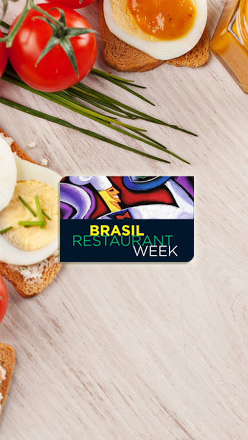 Restaurant Week Brasil- screenshot