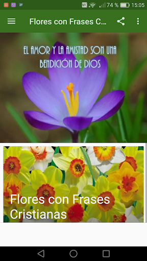 Flores Con Frases Cristianas By Creative Image Apps Google Play