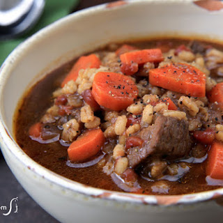 Beef Barley Vegetable Stew