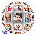 3D Cube Photo Frames Icon