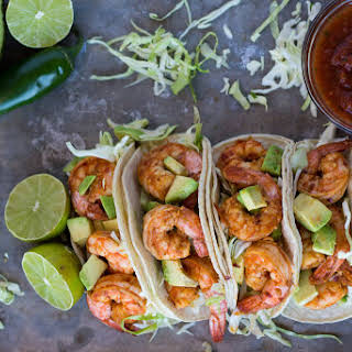 Chili Lime Shrimp Tacos.