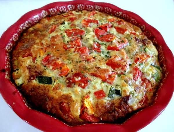 ~ Italian Zucchini Pie ~ Recipe