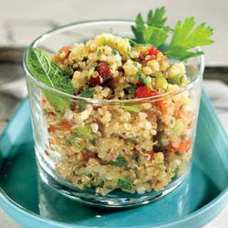 Alison Sweeney's Quinoa With Spinach and Feta.