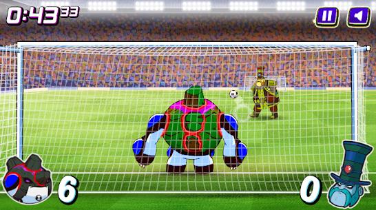 Alien Transform penalty power football game 5