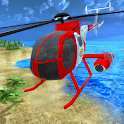 Helicopter Rescue Flying Simulator 3D icon