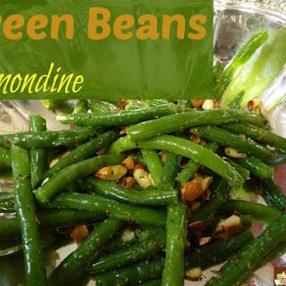 Green Beans Almondine!