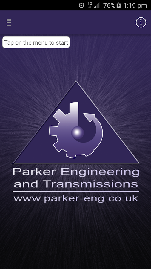 Parker Engineering- screenshot
