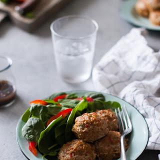 Easy, Skinny Turkey Meatloaf Muffins Recipe {Gluten-Free, Clean Eating, Dairy-Free}.